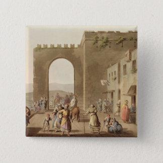 Den främsta gatan i Bethlehem, från 'beskådar av Standard Kanpp Fyrkantig 5.1 Cm