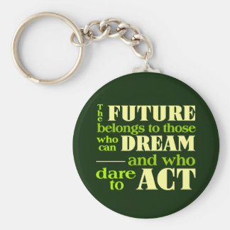 Den framtida nyckelringen rund nyckelring