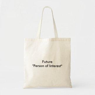 """Den framtida """" personen av intresserar """", tygkasse"""