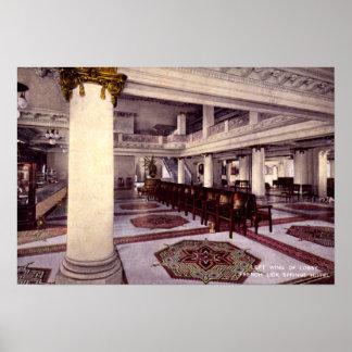 Den franska aningIndiana lobbyen fjädrar hotellet  Affischer