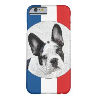 Den franska bulldoggen skissar barely there iPhone 6 skal