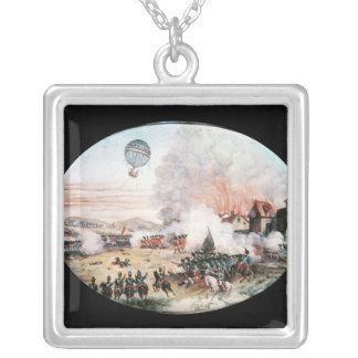 Den franska observationsballongen, silverpläterat halsband