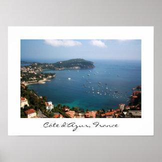 Den franska Rivieraen Poster