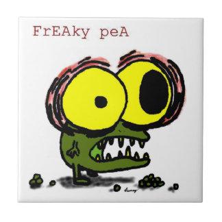 Den Freaky ärtan belägger med tegel Kakelplatta