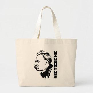 Den Frederich Nietzsche porträtttotot hänger lös Jumbo Tygkasse