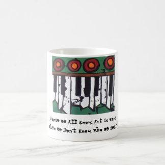 Den fula organkaffemuggen (version 1) kaffemugg