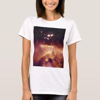 Den galaktisktt stjärnan samla i en klunga NGC T-shirts