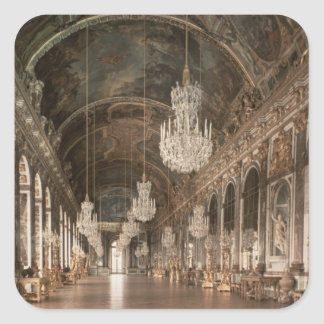 Den Galerie desen Glaces 1678-84 Fyrkantigt Klistermärke