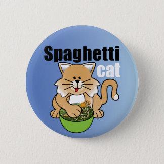 Den galna spagettikatt standard knapp rund 5.7 cm