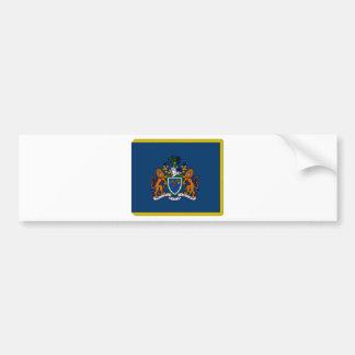 Den Gambia presidentflagga Bildekal
