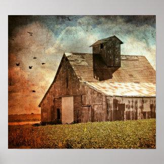 Den gammala ladugården poster