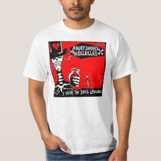 Den gammala Skrapan-i hör skratta för djävulen T-shirt