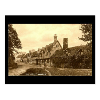 Den gammala vykortet, mal gatan, Warwick Vykort