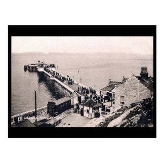 Den gammala vykortet - mumlar pir, nära Swansea Vykort