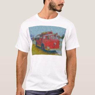 den gammala wawaen avfyrar lastbilen vid harten t shirts