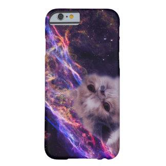 Den genomsnittliga grumpy katten och nebulaen barely there iPhone 6 fodral