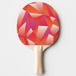 Den geometriska pingen Pong paddlar Pingisracket