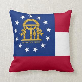 Den Georgia statlig flaggaamerikanen MoJo kudder Kudde