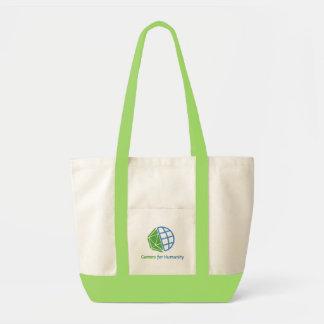 Den GfH zipperen hänger lös, grönt & naturligt Impulse Tygkasse