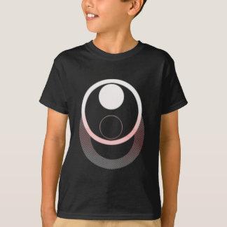 """Den glödande """"vektorn"""" cirklar tshirts"""