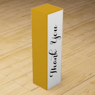 Den Goldenrod kicken avslutar kulört Vinflaskförpackning