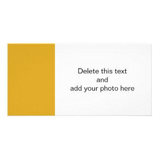 Den Goldenrod kicken avslutar kulört Skräddarsydda Fotokort