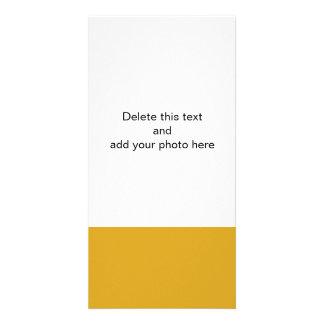 Den Goldenrod kicken avslutar kulört Fotokort