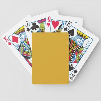 Den Goldenrod kicken avslutar kulört Spelkort