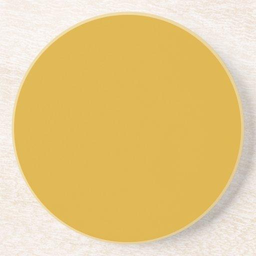 Den Goldenrod kicken avslutar kulört Glasunderlägg