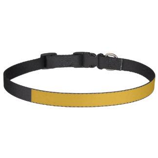 Den Goldenrod kicken avslutar kulört Halsband För Hundar