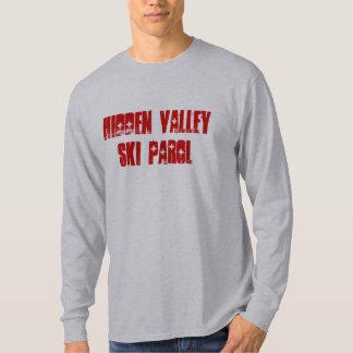 Den gömda dalen skidar Parol Tee Shirts