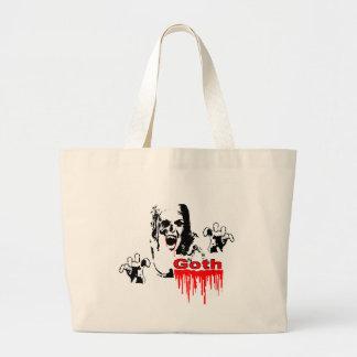 Den Goth vampyren hänger lös Jumbo Tygkasse