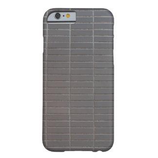 Den gråa lodrät belägger med tegel barely there iPhone 6 fodral