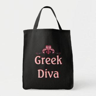 Den grekiska divaen, skräddarsy din egna kvinnoför tygkasse