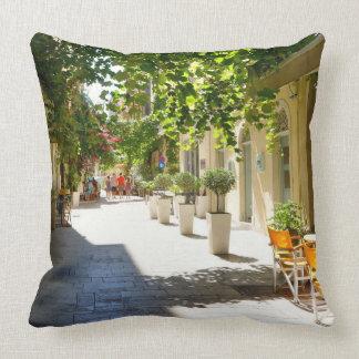 Den Grekland Corfu gatan, kudder Kudde