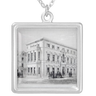 Den Gresham klubben Silverpläterat Halsband