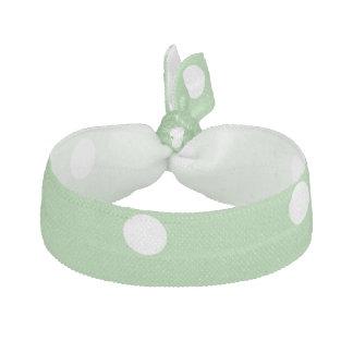 Den gröna Apple polkaen pricker Hårsnodd