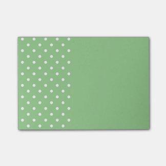 Den gröna Apple polkaen pricker postar det noterar Post-it Block