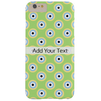 Den gröna kombinationen cirklar vid Shirley Taylor Barely There iPhone 6 Plus Fodral