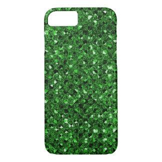 Den gröna sequinen verkställer mobila fodral