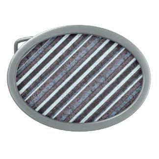 Den grova ovalen för blåttsvartranden spänner fast