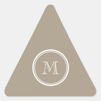 Den Grullo kicken avslutar kulört Triangelformat Klistermärke