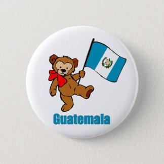 Den Guatemala nallen knäppas Standard Knapp Rund 5.7 Cm