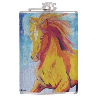 Den gula hästen fickplunta