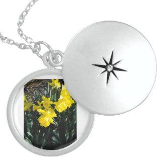 Den gula påskliljan Neclace Berlockhalsband