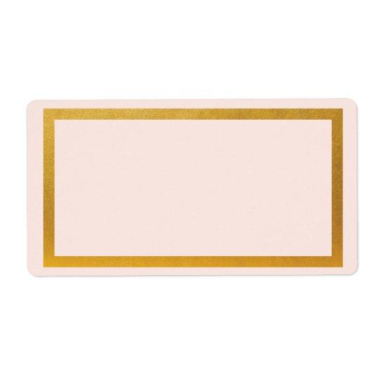 Den guld- fauxen omkullkastar den tomma fraktsedel