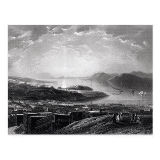 Den guld- grinden, från telegraferar backen vykort