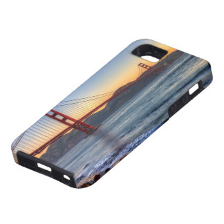 Den guld- grinden överbryggar från den San iPhone 5 Case-Mate Skydd