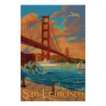 Den guld- grinden överbryggar - San Francisco, CA-