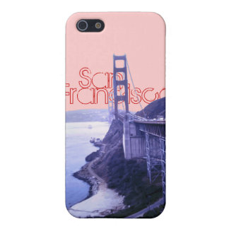 Den guld- grinden överbryggar San Francisco iPhone 5 Fodral